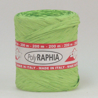 Polyraphia 15mm/200m lime R65