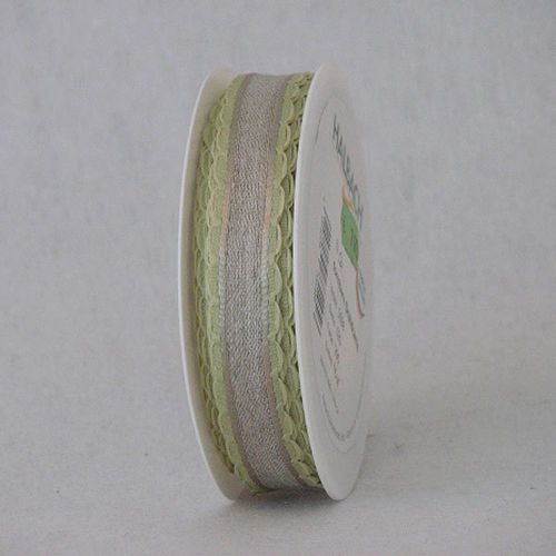 Nauha Loops 20mm/15m lime/hopea (290)