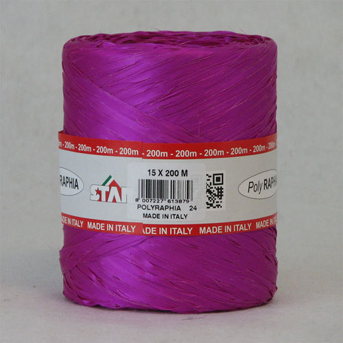 Polyraphia 15mm/200m purple R24