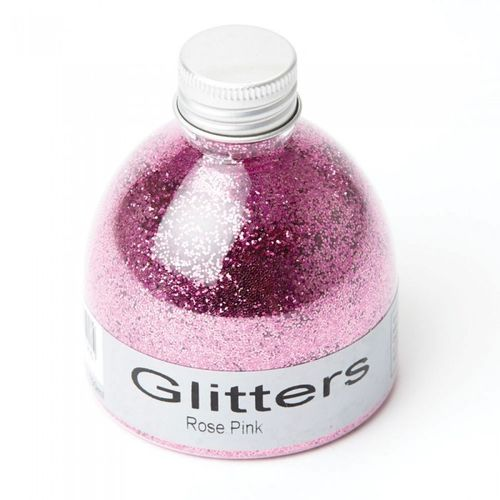 Flower glitter 150ml rose pink