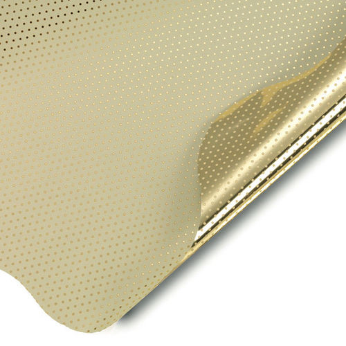 Dots Double Metal Oro 40cm (50)